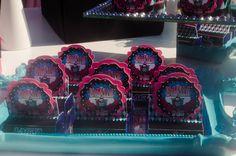 Rótulo Scrap Bis Duplo Monster High