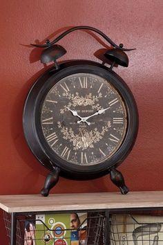 Metal Table Clock.