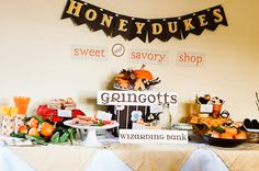 CUTE Harry Potter party ideas!!