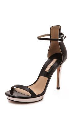 Michael Kors Collection Doris Platform Strap Sandals