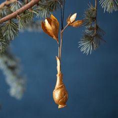 Golden Crocus Ornament