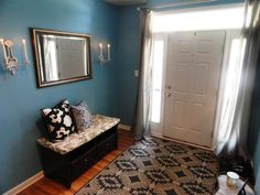 Behr paint color: Riverside Blue
