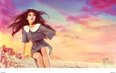 Model: Lana Del Ray  Photographer: Mariano Vivanco  Stylist: Miranda Almond  Hair: Pamela Cochrane  Makeup: Anna Cofone