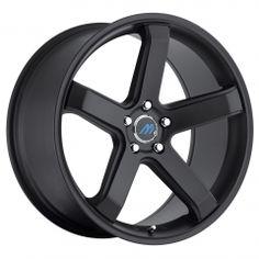 Mach5 20x9.5 Satin Black