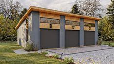 Plan Garage, Garage Floor Plans, Garage Exterior, Garage Shop Plans, House Plans, Detached Garage Designs, Carport Designs, Detached Garage Plans, Pole Barn Designs