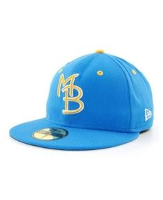 New Era Myrtle Beach Pelicans MiLB 59FIFTY Cap - LightBlue 7 1/8