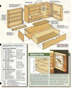 #1842 Dremel Storage Case Plans - Workshop Solutions Plans, Tips and Tricks