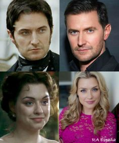 Richard Armitage as John Thornton and Daniela Denby-Ashe as Margaret Hale. Jane Austen, Hot Actors, Actors & Actresses, I Movie, Movie Stars, North And South, The Other Boleyn Girl, Elizabeth Gaskell, British Literature