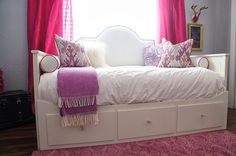 The Cuban In My Coffee: Ikea Hack, Upholstered Headboard For The Hemnes Day Bed