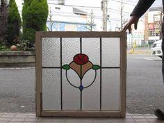 英国アンティークステンドグラスWS 13357J Antique stained glass ¥25800yen 〆04月17日