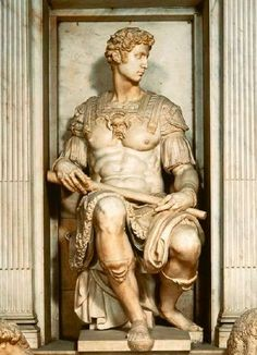 Michelangelo Buonarroti (1475-1564) Giuliano de Medici (1520-1534)