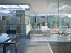 Glass House by NAF Architect and Design | HomeDSGN
