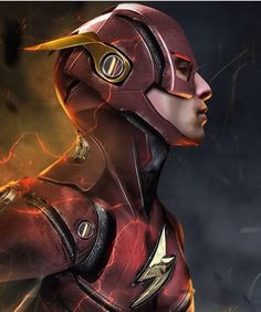 The flash concept art by boss logic on Instagram