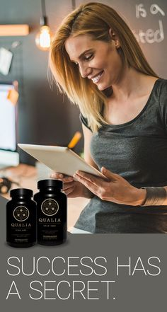 Give your brain and body what it needs to tune into the best version of you, meet Qualia | Neurohacker #Brain #wellbeing #nootropics