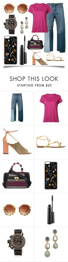 """Everything else Fashion is once"" by denisee-denisee ❤ liked on Polyvore featuring Valentino, Vince, Aquazzura, Casadei, Salvatore Ferragamo, Zero Gravity, Spitfire, MAC Cosmetics, U-boat and Native Gem"