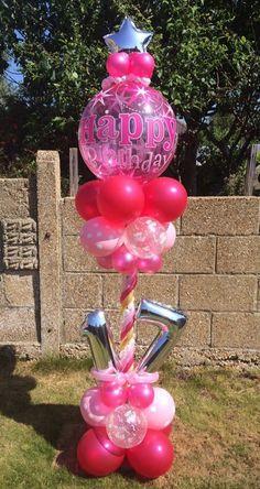 Birthday Party Fun 17th Ideas Bubble Parties Balloons