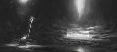 Value Sketch by Shahab Alizadeh | Fantasy | 2D | CGSociety
