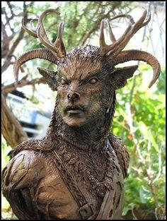 Cernunnos  Cernunnos is the Celtic pagan god of the woods