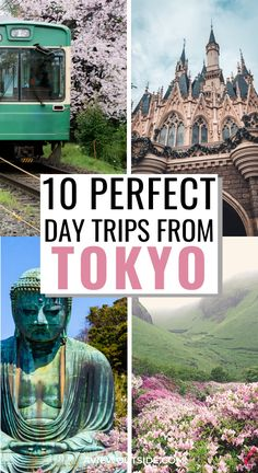 10 Perfect Day Trips From Tokyo, Japan - The most incredible day trips you can take from Tokyo, Japan. Tokyo Japan Travel, Japan Travel Guide, Japan Trip, Tokyo Trip, Japan Guide, Us Travel Destinations, Places To Travel, Nara Japan, Japan Places To Visit