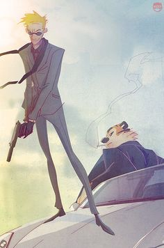 Classic characters reimagined by Coran Stone | The 30 Very Best Pieces Of Fan Art Of 2013