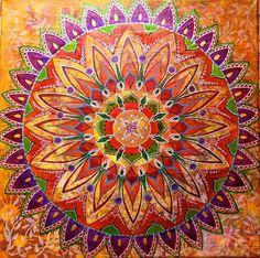 titles of art pieces pink mandala - Google Search