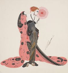 Aphrodite (via : the Dallas Museum of Art ) Illustration, 1921 (via : li-an ) La Florentine, 1921 (via : li-an ) La P...