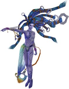 Shiva Final Fantasy X. My favourite Aeon. Just loved the graceful and yet badass way she attacked