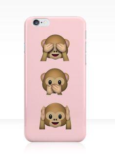 Monkey Emojis IPhone Case Ipod 5 Birthday Presents Iphone6