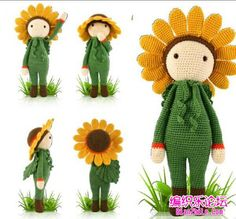 Doll, toys, amigurumi, ideas, crochet, free pattern (Chinese)