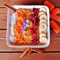 Spoonable Healthy Bowl: The winner is… Healthy Bowl, Acai Bowl, Paleo, Breakfast, Food, Acai Berry Bowl, Morning Coffee, Essen, Beach Wrap