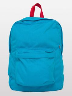 Don't let your phone die at school! Be sure to throw in your Everpurse in your backpack. Try this Nylon Cordura® School Bag in Teal/Red/Teal by #AmericanApparel.  #backtoschool