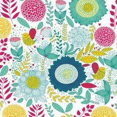 Quadro - Colored Flowers - Decohouse