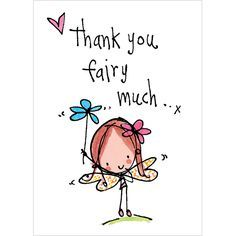 Thank you fairy much! – Juicy Lucy Designs