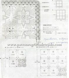 Hermosa cartera con grannys y terminación especial / tutorial   Crochet y Dos agujas