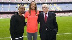 Yulimar Rojas fue fichada por la sección de atletismo del Barcelona FC