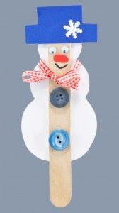 Sněhuláček špachtláček - vyrábění z papíru / Snowman made from paper Snowman, Symbols, Letters, Paper, Outdoor Decor, Crafts, Art, Winter Time, Icons