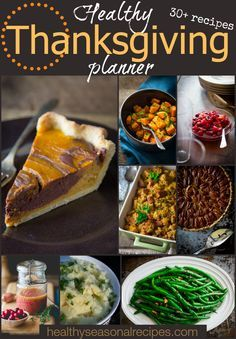Healthy Thanksgiving Planner | Answers to your Thanksgiving dinner timeline questions: when to order the turkey, which side-dishes can be made ahead. Plus 30 plus healthy recipes to help you plan your menu.
