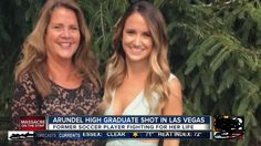 Tina Frost, 27, woke from a coma on weekday to require her initial steps since sustaining a bullet to the forehead from being shot by writer pen on the Gregorian calendar month. one mass shooting