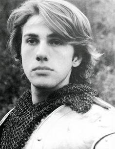 Young Christoph Waltz. Oh - my - God.