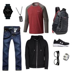"""""""Mr. Right"""" by marleyhaskell on Polyvore featuring Nixon, Polo Ralph Lauren, Rhona Sutton, Columbia, Diesel, Under Armour, ZeroUV, men's fashion and menswear"""