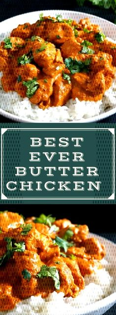 This easy butter chicken recipe Indian style is my take on the classic chicken curry dish that is p Chicken Curry, Butter Chicken, Tandoori Chicken, Indian Chicken Recipes, Curry Dishes, Easy Family Dinners, Creamy Sauce, Indian Style, Butter Recipe