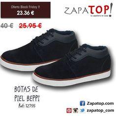 ¡Qué esperas! El #blackfriday está en zapatop.com :D #zapatillas de piel  azul  marca #Beppi  #moda #calzado #calzadohombre #zapatoshombre #zapatos # hombrefashion #hechoenespaña #zapatosonline #zapatosnuevos #zapatosdecuero #zapatosfashion #zapatillas #blackfridaysales #instamoda #moda2016 #modazapatos #modashoes #tendencias #calzado #calzadoespañol #viernesnegro Vans, Photo And Video, Sneakers, Shoes, Instagram, Fashion, Fur Boots, Leather Boots, Slippers