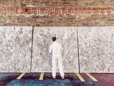 Bosco Sodi, contemporary art, artist, mexico, nyc, new york city, pace gallery, portrait, Dustin Aksland