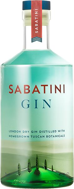 London Dry Gin distilled with Tuscan herbs, Sabatini Gin | Cortona, Tuscany (Italy)
