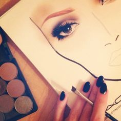 Mac makeup chart