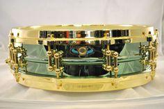 "Ludwig Carl Palmer ""Venus"" 3 7x14 Brass Snare Drum"