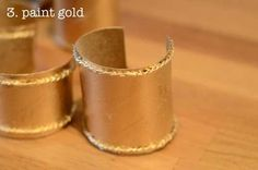 make your own ancient egyptian armlets with this easy tutorial