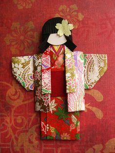 Origami Paper Doll - Ichigo | Flickr - Photo Sharing!