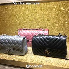 Chanel Mini Rectangulap Flap Bags in Lambskin