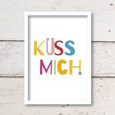 """Print """"Küss mich!"""""""